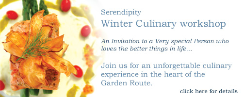 Attend the Serendipity winter culinary workshop